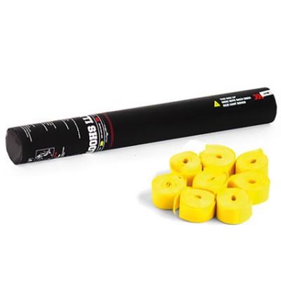 Handheld Streamer - 40cm - papier - geel