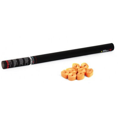 Handheld streamer - 80cm - papier - oranje