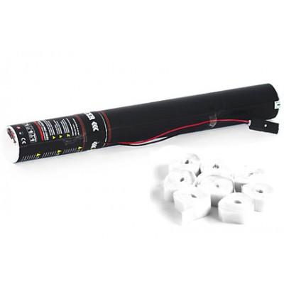 Elektrische Streamer - 40cm - papier - wit