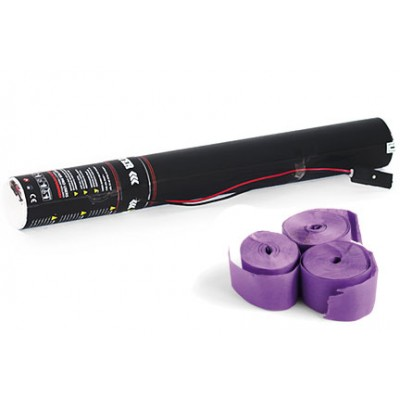 Elektrische Streamer- 40cm -papier - paars