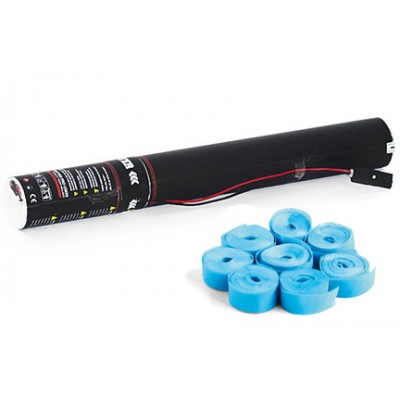 Elektrische Streamer- 40cm -papier - lichtblauw
