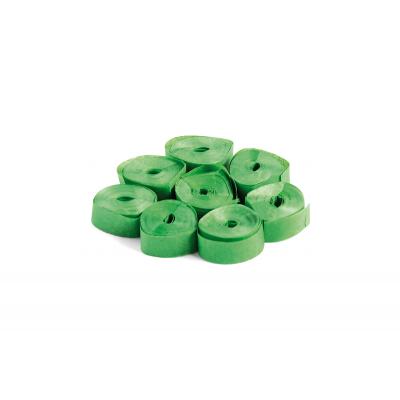 The ConfettiMaker streamers 5m x 0,85cm papier groen