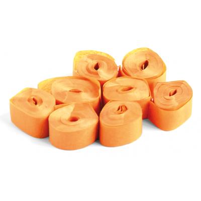 The ConfettiMaker streamers 5m x 0,85cm papier oranje