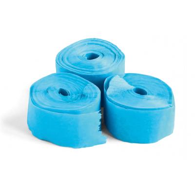 The ConfettiMaker streamers 10m x 1,5cm papier lichtblauw