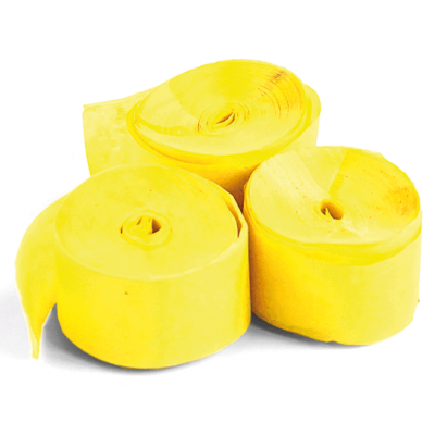 The ConfettiMaker streamers 10m x 1,5cm papier geel