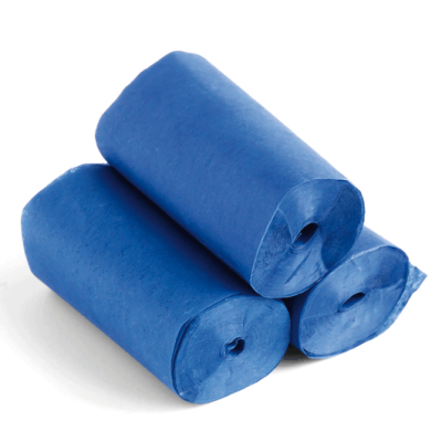 The ConfettiMaker streamers 10m x 5cm papier blauw