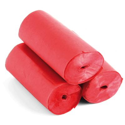 The ConfettiMaker streamers 10m x 5cm papier rood