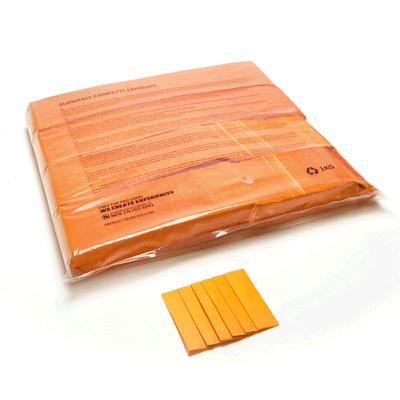 Losse Slowfall Confetti - papier - 1kg - oranje