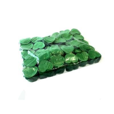 Losse Slowfall Confetti - 1kg - Groene -Hartjes