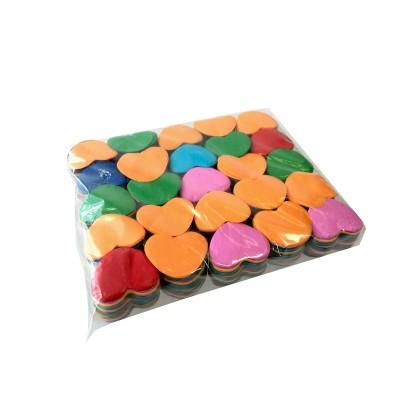 losse slowfall confetti - hartjes - 1kg - Multicolor