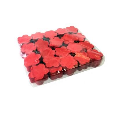 Losse Slowfall Confetti Bloemen Rood