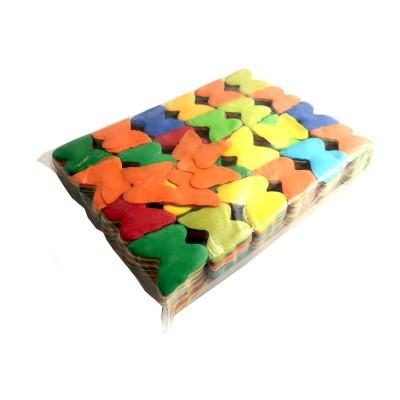 Losse slowfall Confetti Vlinders Multicolor
