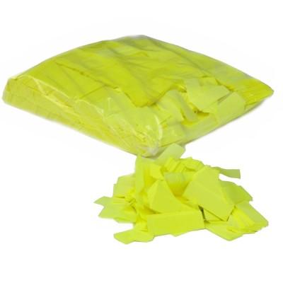 Losse Slowfall Confetti - papier - 1kg - UV geel