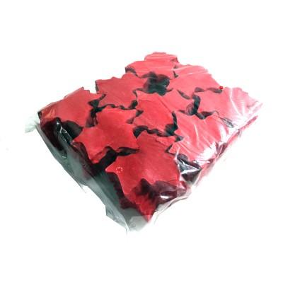 Losse slowfall Confetti Vlinders Rood