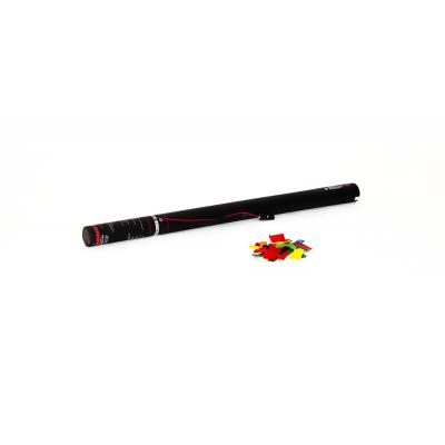 Elektrische Confetti Shooter - 80cm - papier - multicolor