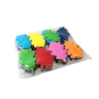 Losse slowfall Confetti Eiken bladeren Multicolor